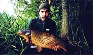 Lystfiskeri i Almaån. Foto: Fredrik Broman / Imagebank.sweden.se