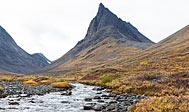 Vandring i Lapland: Bjerget Nállu