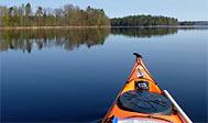 Kajaktur på Osbysjön. Foto: Ola Halléus, CC-BY-SA 2.0