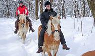 Tag på rideferie i Sverige