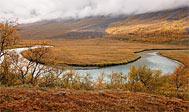 Vandring i Lapland: Vistas - Alesjaure