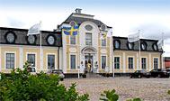 Kroophold på Sjöbo Gästgifvaregård mellem Malmø og Ystad i Sverige