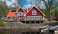 Sjöstugans Hotell uden for Älmhult i Sverige