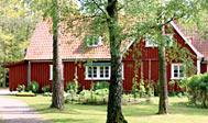 Kroferie på Vallåsens Värdshus mellem Båstad og Laholm i Sverige