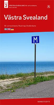 Kort Over Midtsverige Og Nordsverige