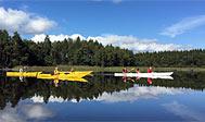 Kajaktur på Åsnen med guide en halv dag