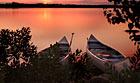Brotorpet kanoudlejning ved Immeln i Skåne
