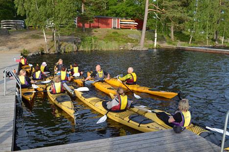 Kanoudlejning Ved Halen I Olofstrom