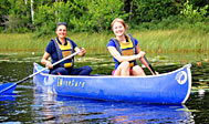 Udlejning af kanoer, kajakker og udstyr på kanocenter i Småland