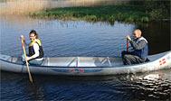 Lej kano på Torne Camping ved Åsnen