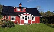 Dejlig nyistandsat ødegård i Halland