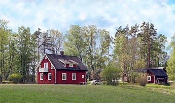 hus på landet til leje