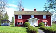 Stort smagfuldt indrettet feriehus i Småland