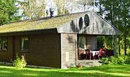Sommerhus ved Höör i Skåne, Sverige
