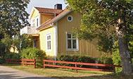 Feriehus ved Nybro i Småland, Sverige