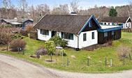 Feriehus i den hyggelige by Skäret på Kullen udlejes