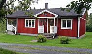 Overnatning i feriehus på landet i Småland, Sverige