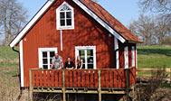 Billig ferie ved sø og skov i Småland