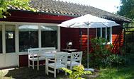 Feriehytte i Arild på Kullen, Sverige