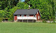 Sommerhus ved Älmhult i Småland, Sverige