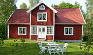 Fem sommerhuse i Blekinge til leje