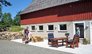 Dejligt, nyrenoveret hus i skoven uden for Huaröd i østlige Skåne