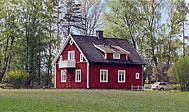 Hyggeligt svensk sommerhus i det sydlige Småland til leje