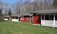 Feriehuse i hytteby i Nordskåne