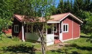 Sommerhus ved sø i Småland