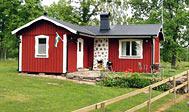 Hyggeligt sommerhus på landet