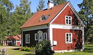 Tidligere stationsbygning ved Vimmerby til leje