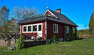 Hytteby på økologisk gård i Midtskåne