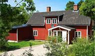 Sommerhus til 17 personer ved sø i Västra Götaland