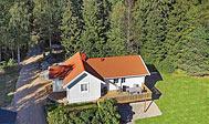 10 personers sommerhus nær skov og hav ved Uddevalla