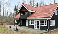 Nybygget, lyst sommerhus i Skåne til 12 personer