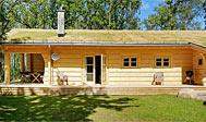 Nybygget sommerhus ved Vallåsen til 10 personer udlejes