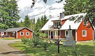 Feriehus til 12 personer ved Örkelljunga og Vallåsen