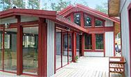 Sommerhus til ni personer ved Åhus