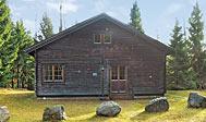 Bjælkehus i Halland til 10 personer udlejes
