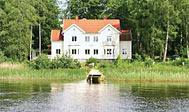 Stor feriebolig til 26 personer ved Ryd i Småland