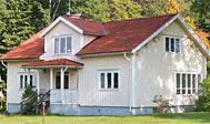 Sommerhus ved Älmhult til 10 personer