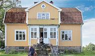 Sommerhus ved Ideboås i Småland til 10 personer