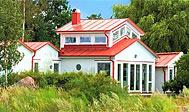 Sommerhus med pool og havudsigt på Øland til 12 personer