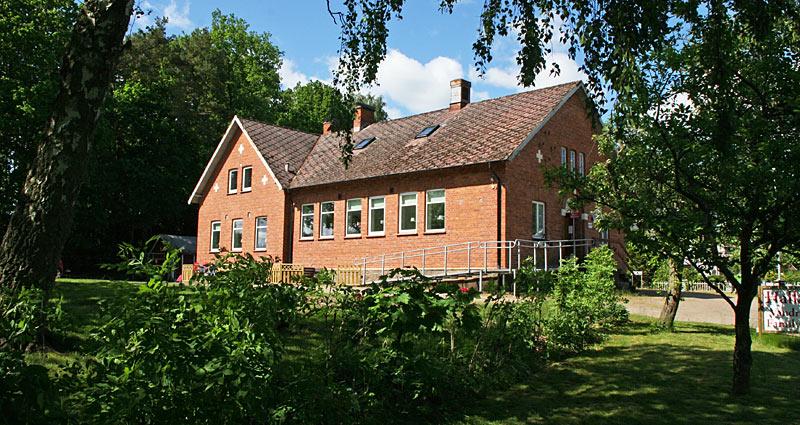 Hallandsåsens Vandrehjem i Skåne, Sverige
