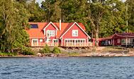 Sjöstugans vandrehjem ved Älmhult, Sverige